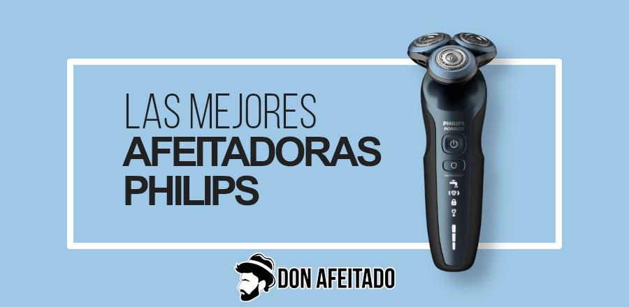 Portada afeitadoras Philips