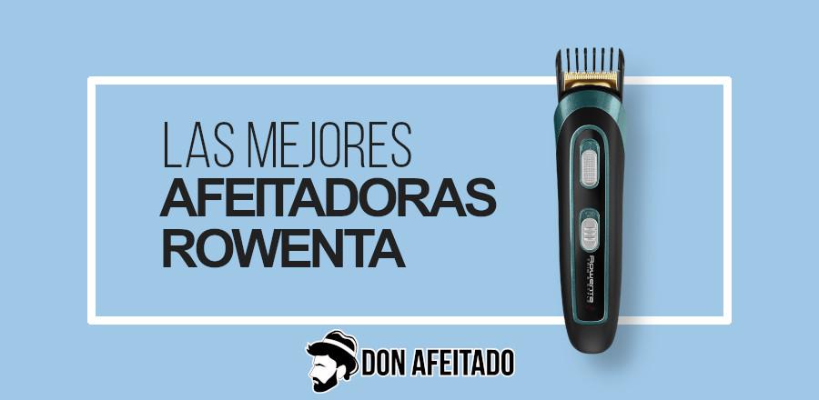 portada afeitadoras- Rowenta
