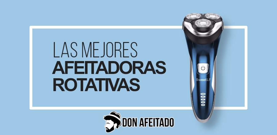 Portadas afeitadora rotativa